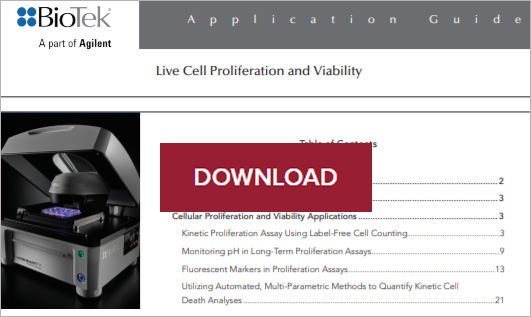 Live Cell Proliferation and Viability