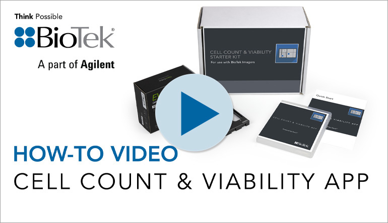 How to Use BioTek's Cell Count & Viability App
