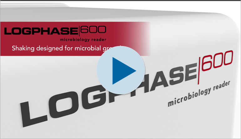 LogPhase 600 Microbiology Reader: Shaking designed for microbial growth